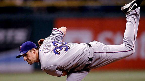 Cliff Lee, texas rangers, josh hamilton, tampa bay rays, rays, texas rangers baseball