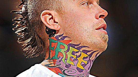 Chris Andersen of the Denver Nuggets