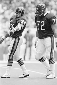 Walter Payton and William Perry