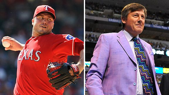 Tommy Hunter and Craig Sager