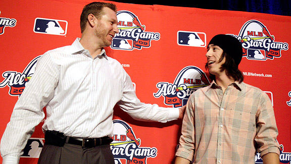 Roy Halladay/Tim Lincecum