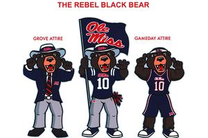 Rebel Black Bear