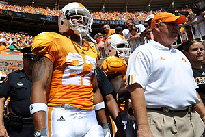 Arian Foster and Phil Fulmer