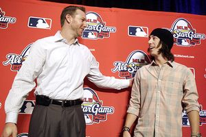 Roy Halladay and Tim Lincecum