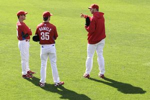 Roy Oswalt, Cole Hamels, and Roy Halladay