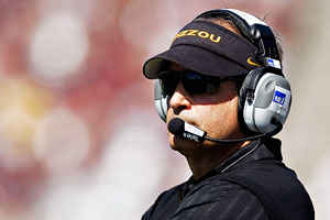 Post image for Missouri Fooball Coach, Gary Pinkel, Separating From Wife