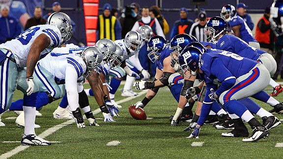 Cowboys vs. Giants