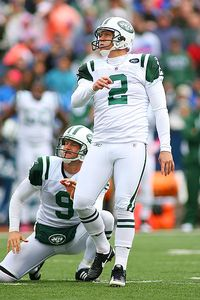 Rick Stewart/Getty Images Now with the Jets, Folk is the leading