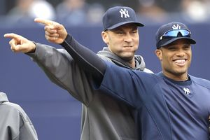 Derek Jeter and Robinson Cano