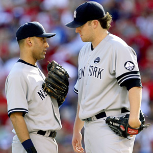 Derek Jeter & Phil Hughes