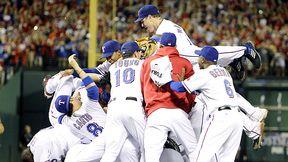 Texas Rangers celebrate
