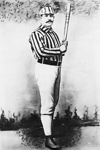 1800s Baseball Player