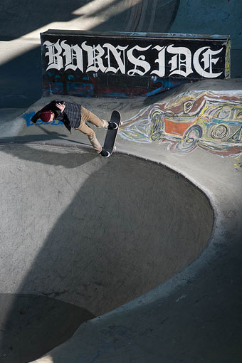 Chet Childress, bluntslide