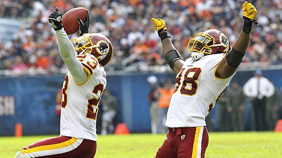 DeAngelo Hall and Brian Orakpo