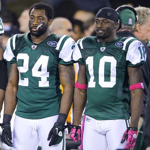 Darrelle Revis and Santonio Holmes