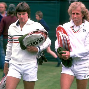Vitas Gerulaitis and Jimmy Connors