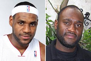 Lebron James Look Alike