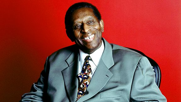 Earl Lloyd, the first black NBA player