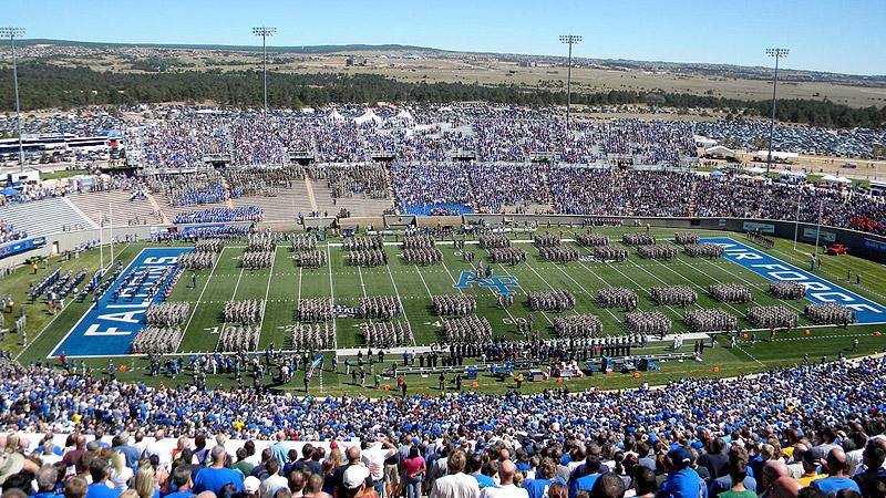 Falcon Stadium Overview