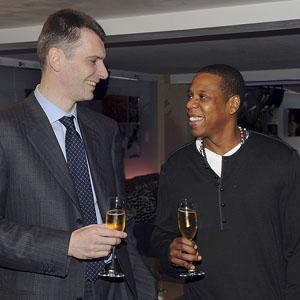 Mikhail Prokhorov & Jay Z