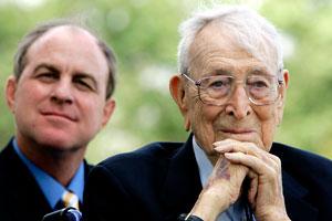 John Wooden & Ben Howland