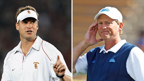 Lane Kiffin and Rick Neuheisel