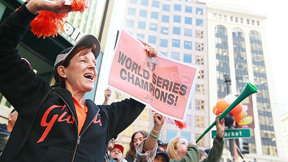 Giants parade