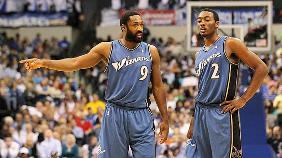 Gilbert Arenas and John Wall