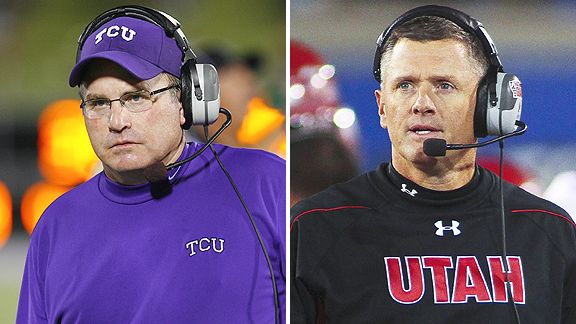 Gary Patterson and Kyle Whittingham