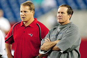 Bill Belichick and Eric Mangini