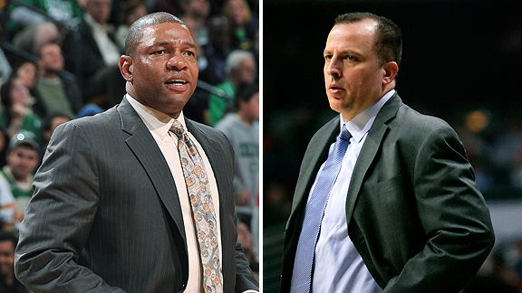 Doc Rivers and Tom Thibodeau