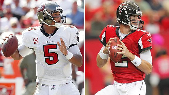 Josh Freeman and Matt Ryan