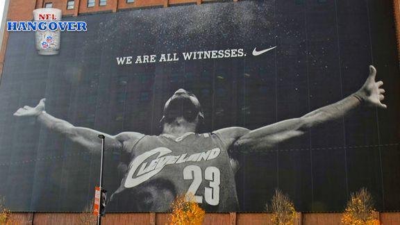 Nike LeBron Mural