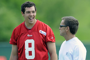 Sam Bradford & Billy Devaney