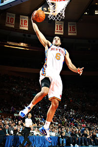 , Landry Fields made an impression with his 39-inch vertical leap