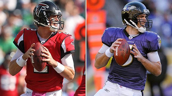 Matt Ryan & Joe Flacco