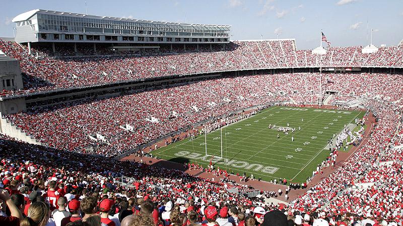 Largest college football stadiums - ESPN