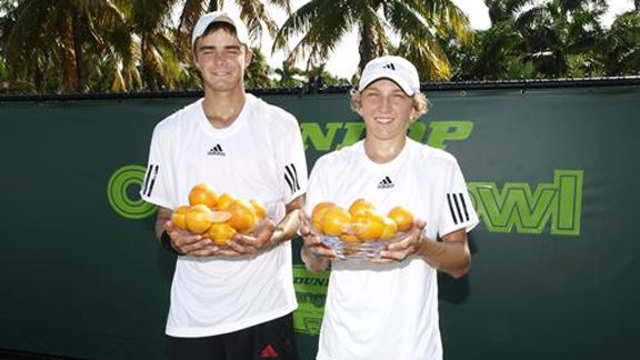 Orange Bowl trophies