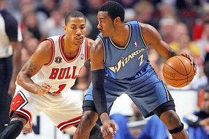 Derrick Rose and John Wall