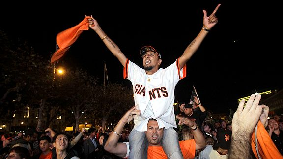 APSan Francisco Giants fan