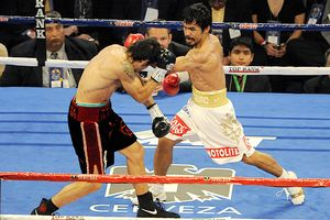 Manny Pacquiao and Antonio Margarito