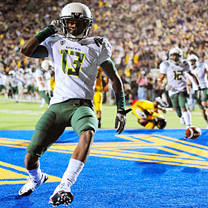 Oregon Ducks cornerback Cliff Harris