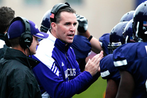 Northwestern coach Pat Fitzgerald