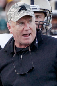 Army head coach Rich Ellerson