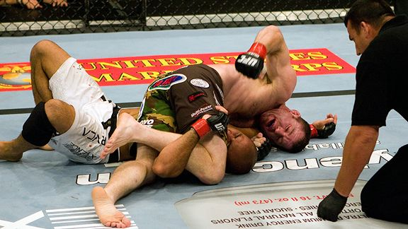 Matt Hughes and BJ Penn