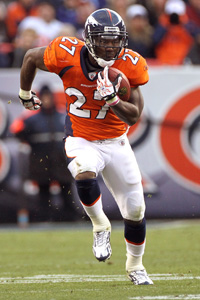 KNOWSHON MORENO of Denver Broncos is a popular breakout candidate ...