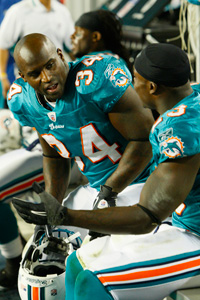 Ricky Williams and Ronnie Brown