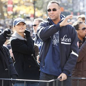 Derek Jeter and Minka Kelly