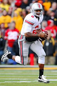 Ohio State Buckeyes quarterback Terrelle Pryor