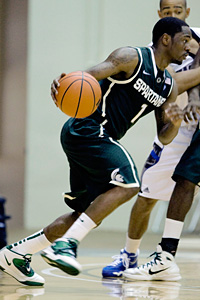 Michigan State's Kalin Lucas